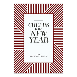 Cheers to the New Year Holiday Card