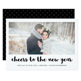 Cheers to the New Year | Photo Card