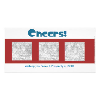 Cheers to the New Year... Photo Card