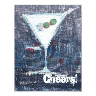 Cheers Toast Party Invitation