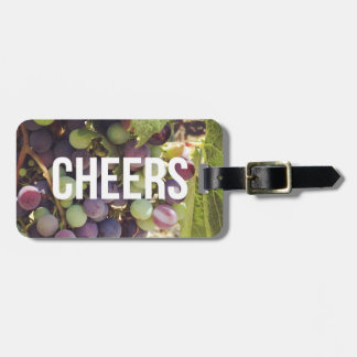 Cheers Wine Country Luggage Tag