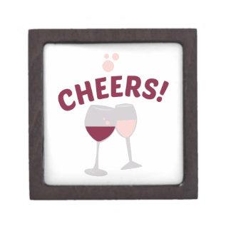 Cheers Wine Jewelry Box