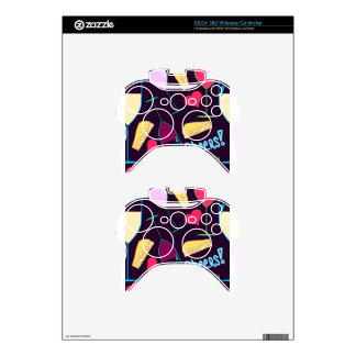 Cheers Wine Party Pattern Xbox 360 Controller Skin