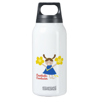 Cheertastic Cheerleaders 10 Oz Insulated SIGG Thermos Water Bottle