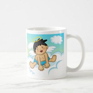 Cheery Baby Boy and Girl: Angel 2 Mug