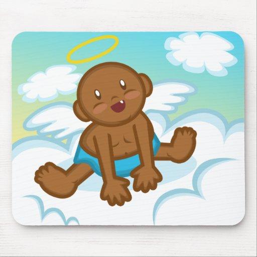 Cheery Baby Boy: Angel 3 Mousepad