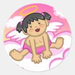 Cheery Baby Girl: Angel 2 Sticker