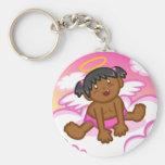 Cheery Baby Girl: Angel 3 Keychain