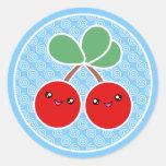 Cheery Cherries Kawaii Stickers