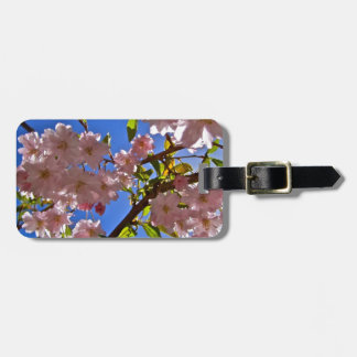 Cheery Cherry Blossoms Bag Tags
