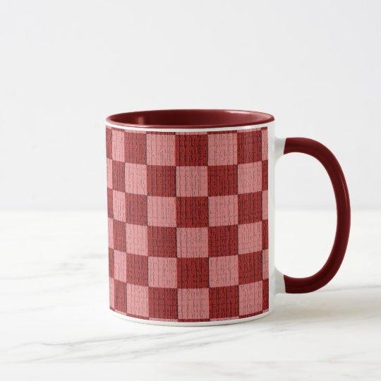 Cheery Cherry Check Mug