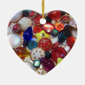 Cheery Christmas Buttons Ornament