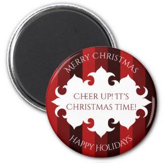 Cheery elegant Christmas Magnet
