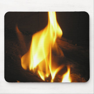 Cheery Fire Picture from Home P5230008 Mouse Pad