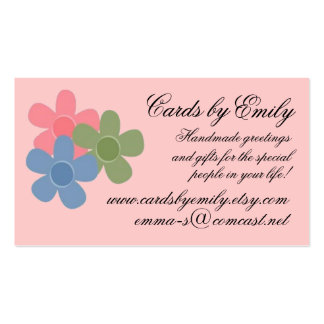 Cheery Flowers Business Card Design