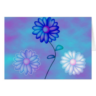 Cheery flowers card