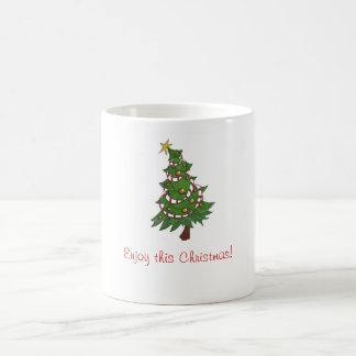 Cheery holiday mug