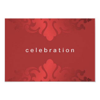 Cheery Red Christmas Company Party Card