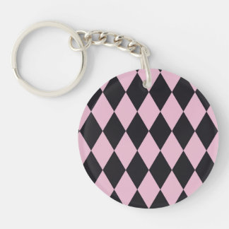 Cheery Success Passionate Sensible Single-Sided Round Acrylic Keychain