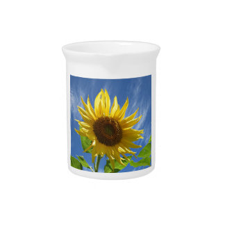 Cheery Sunflower Drink Pitchers