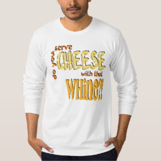 Cheese -  American Apparel Long Sleeve (Fitted) T-Shirt