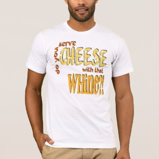 Cheese -  American Apparel T-Shirt (Fitted)