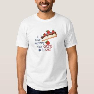 Cheese And Cake Tee Shirt