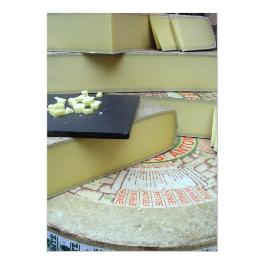 Cheese and cheese board card