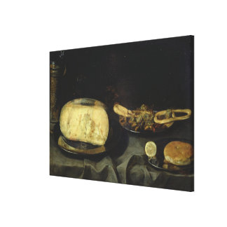 Cheese and Dry Dessert Canvas Print