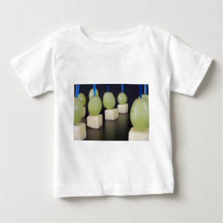 cheese and grapes baby T-Shirt
