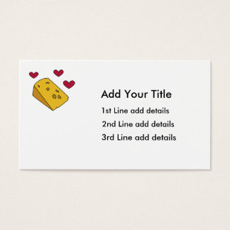 Cheese and Kisses Business Card