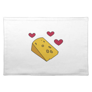 Cheese and Kisses Cockney Rhyming Slang Gift Placemat