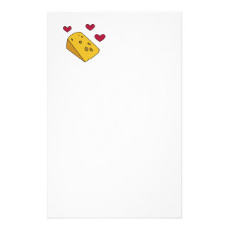 Cheese and Kisses Cockney Rhyming Slang Gift Stationery