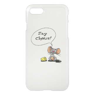 cheese and mouse - say cheese! iPhone 7 case