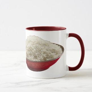 cheese and rice mug