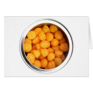 Cheese Balls Card