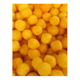 Cheese Balls Postcard