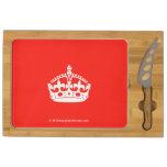 [Crown]  Cheese Board Rectangular Cheese Board