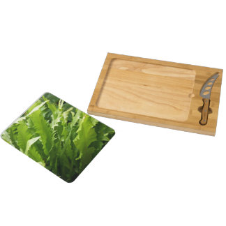 Cheese Board - Sawtooth Kelp Fern