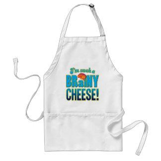 Cheese Brainy Brain Adult Apron