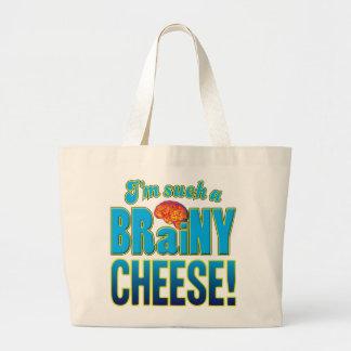 Cheese Brainy Brain Bag