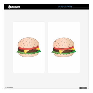 Cheese Burger Skins For Kindle Fire