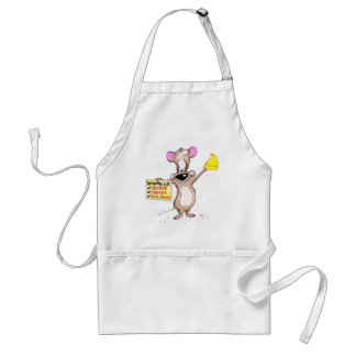Cheese, Cheese, More Cheese Adult Apron