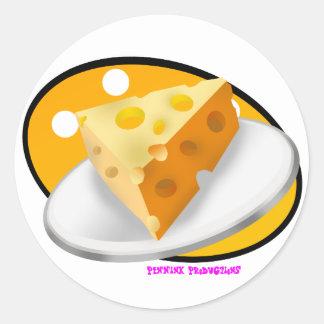 Cheese! Classic Round Sticker
