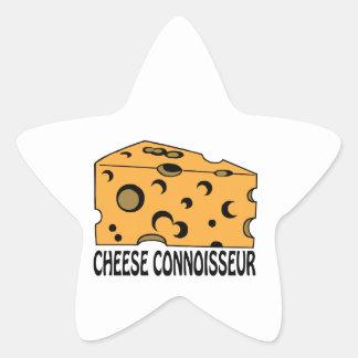 Cheese Connoisseur Star Sticker