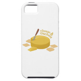 Cheese & Crackers iPhone 5 Covers