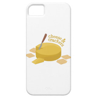 Cheese & Crackers iPhone 5 Case