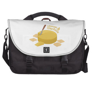 Cheese & Crackers Laptop Computer Bag