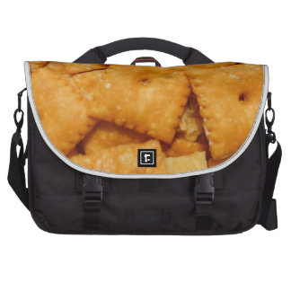 Cheese Crackers Laptop Bags
