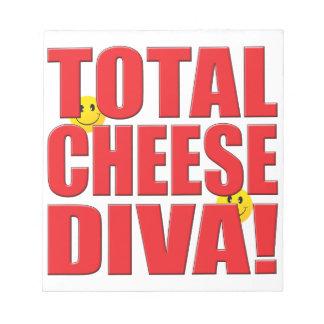 Cheese Diva Life Memo Pad